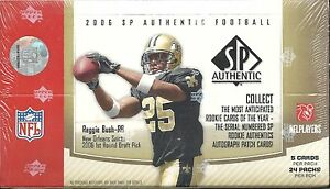 2006-SP-Authentic-Factory-Sealed-Football-Hobby-Box-Jay-Cutler-RC