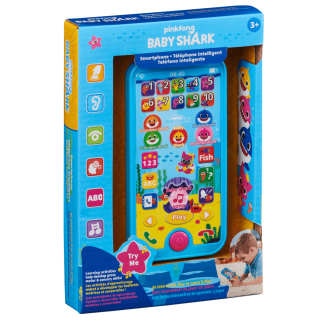 WowWee Pinkfong Baby Shark Smartphone - Educational ...