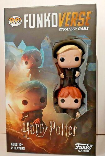 Funko Pop funkoverse Jeu de stratégie-Harry Potter 101-Weasley MALFOY NEUF