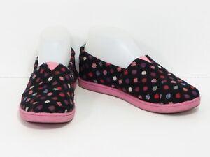 TOMS Multicolor Black Pink Polka Dots