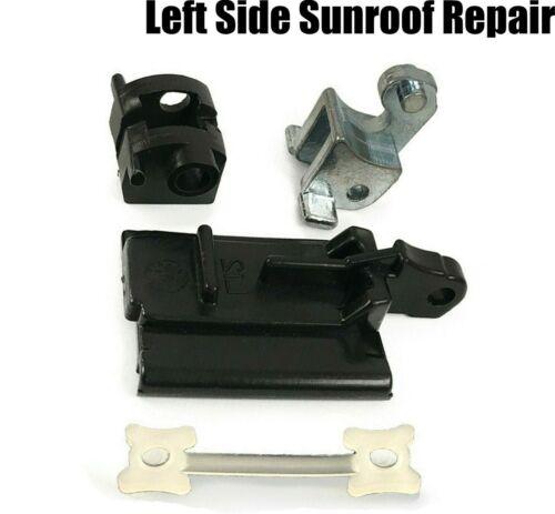 1x 4 Pièce Kit de réparation pour BMW E36 Toit ouvrant Coulissant Rail Kit Réparation Côté Gauche
