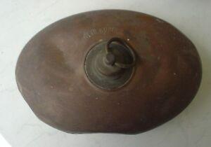 Antiquitäten & Kunst Duftendes Aroma Kupfer Offizielle Website Nostalgische Kupfer Bettflasche Messing Zinn Allgäuer Bauernhof Ca.1900 Wärmefl