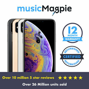 Apple-iPhone-XS-64GB-256GB-512GB-Unlocked-SIM-Free-Smartphone-Various-colours