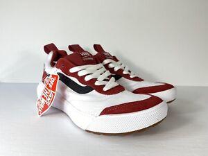 Vans-UltraRange-Rapidweld-Red-Dahlia-White-Shoes-VN0A3MVUTKQ-New-W-Box-Men-s-7