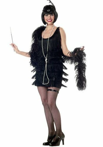 California Costumes Collections 00837 Fashion Flapper Holiday Party Costume