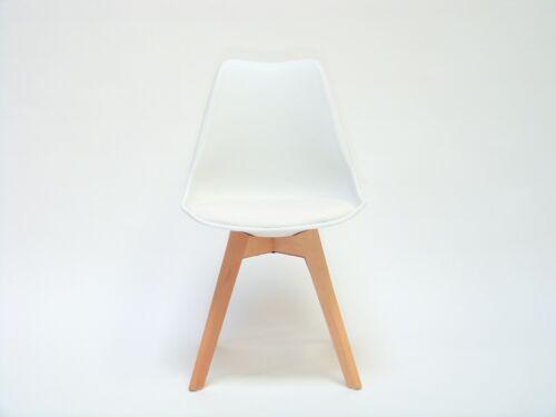 2x Stühle Küchenstuhl Esszimmerstuhl StuhlSet weiß Ivi