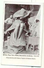 TORINO 1902 - ESPOSIZIONE INT.LE D'ARTE MODERNA Sirena decorativa PEDRINI
