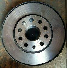 Genuine OE Textar Coated High-Carbon Front Vented Brake Discs Pair 92120705