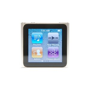 Apple Ipod Nano 6th Generation 8gb Silver Mc525ll A For Sale Online Ebay