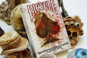 Carte-da-gioco-Bicycle-KARNIVAL-DEAD-EYES-poker-size