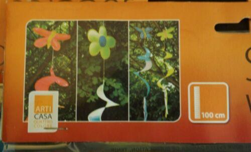 Farben Windspiel Restposten 12 x Windspiele Windspirale  versch