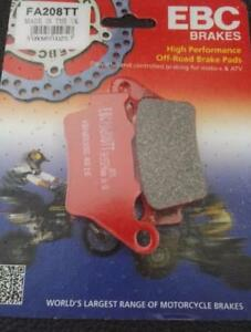 Rear Brake Pads Husqvarna CR SM TE TC WRE WR SMR 125 250 400 410 450 510 570 610