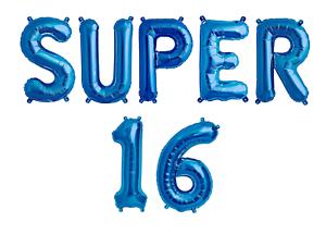 Ragazzi-Ragazze-DOLCE-16-SUPER-16-16th-Festa-Di-Compleanno-Celebrazione-Decorazione-Palloncini