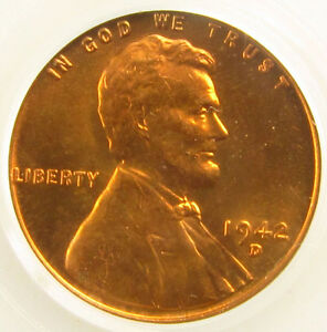 Image Is Loading 1942 D Lincoln Cent Pcgs Ms66 Free Shipping