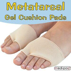 Medipaq-Metatarse-Coussin-de-Gel-Soulage-plante-pied-DOULEUR-douloureux