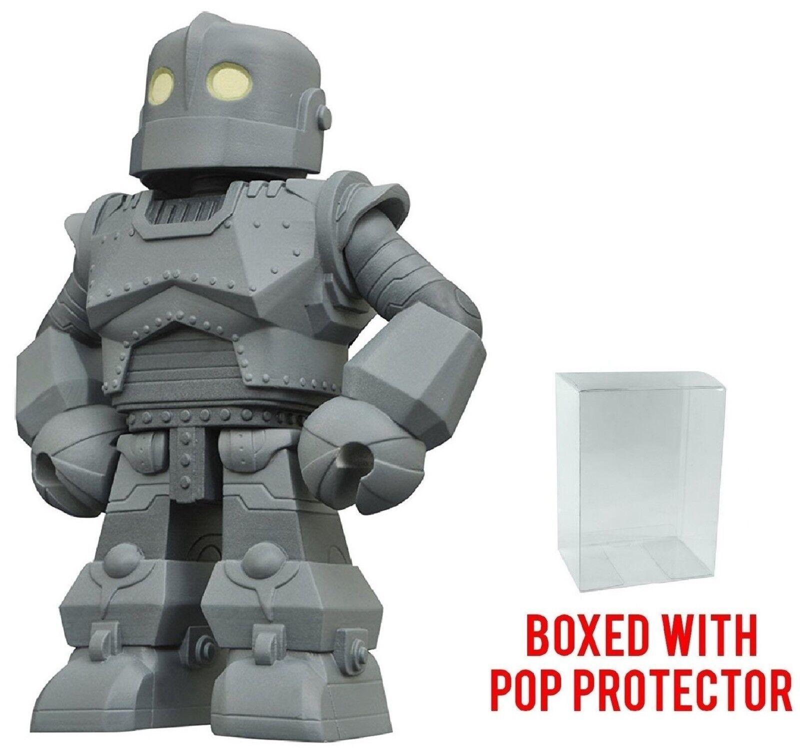 Diamond Select Toys Iron Giant Vinimates Vinyl Figure Pop Box Protector Case