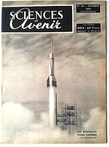 SCIENCES-ET-AVENIR-10-1950-Fusees-Cigognes-Algues-Marines-La-Rhodesie