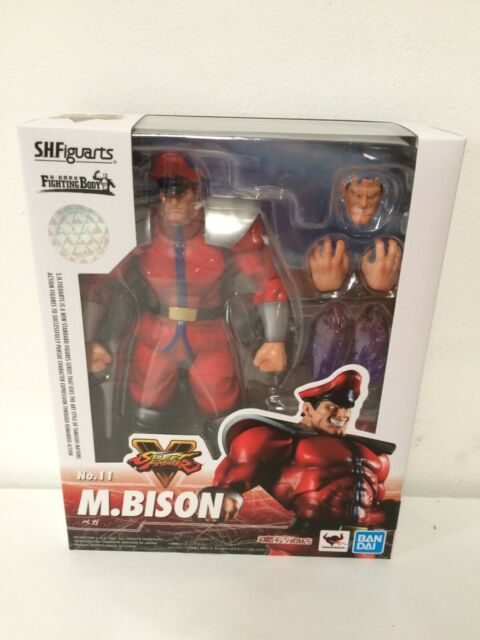 Bandai Shfiguarts Street Fighter M Bison Action Figure Toys For