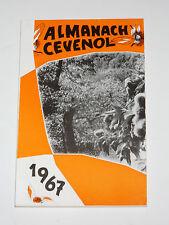 ALMANACH CEVENOL 1967 Sauve Du Fajas à Lasalle Le Vigan Châtaigniers d'Uglos