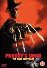 FREDDY'S DEAD THE FINAL NIGHTMARE ROBERT ENGLUND YAPHET KOTTO EIV UK DVD L NEW