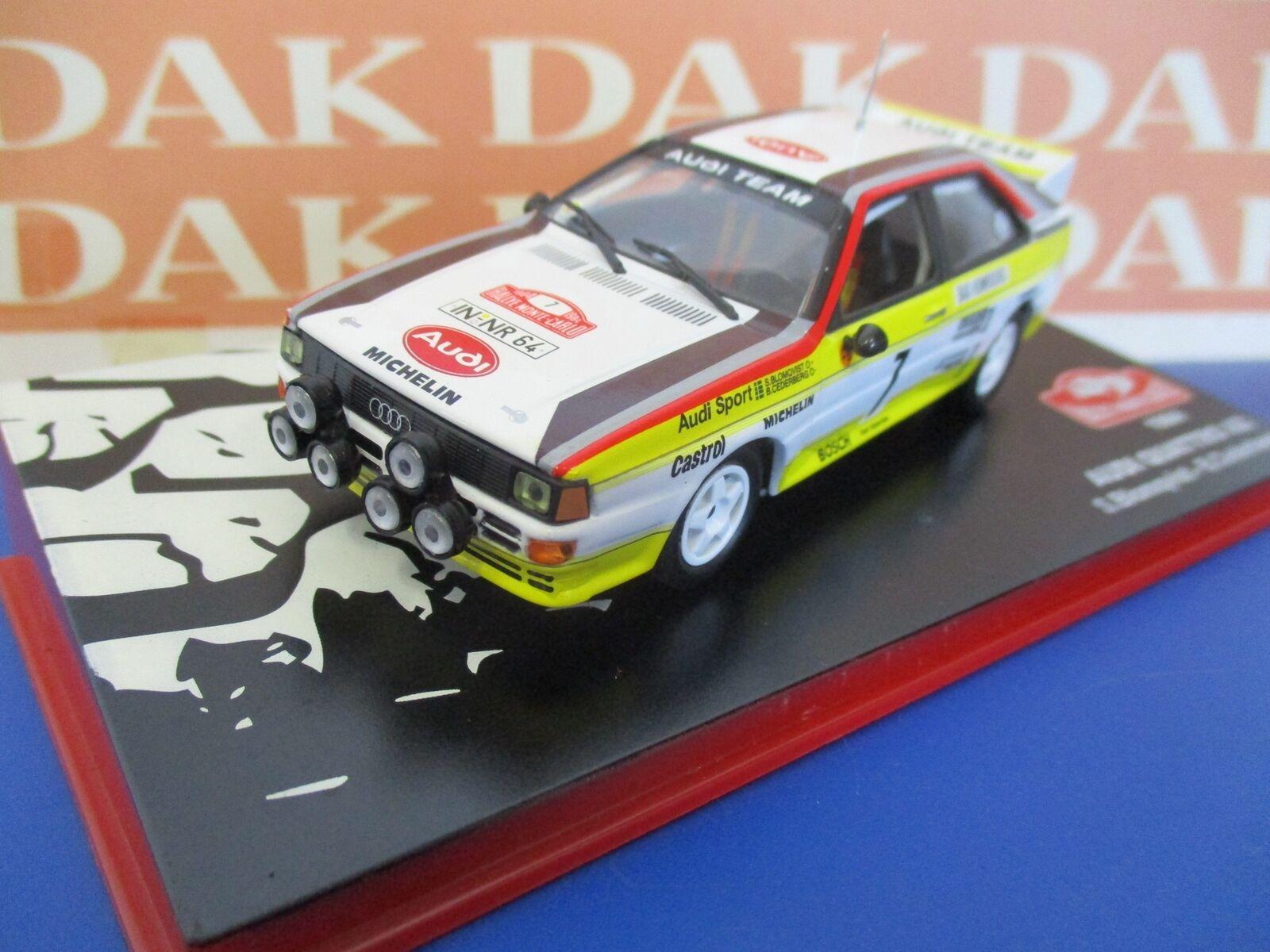 Die cast 1 43 Modellino Autoi Quattro A2 Rally Monte Carlo 1984 S.Blomqvist