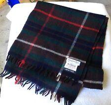 NWOTs Christian Dior 70% Cashmere-30% Wool HUNTING FRASER tartan scarf, Scotland
