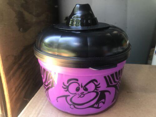 1994 McDonalds Halloween Pails Buckets Pumpkin /& Ghost Cookie Cutter Lids
