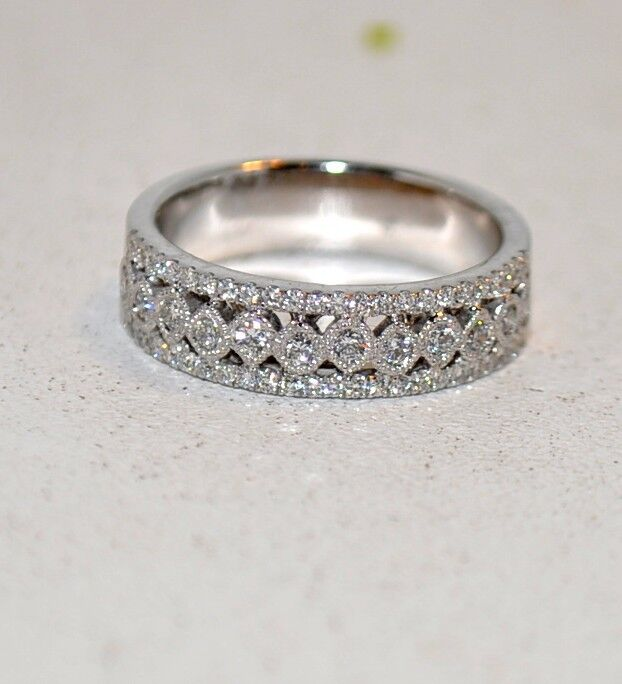 .45CT DIAMOND RING IN 18KT WHITE gold