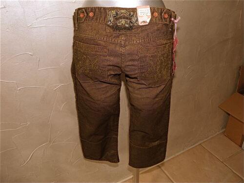 29 40 Kaporal A Tre Etichetta Velour Us Quarti Tramonto Taglia Pantalone 38 8pvqwAxA