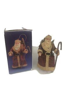 Santas-World-Paper-Mache-Father-Christmas-Kurt-S-Adler-J621-Old-World-Ornament