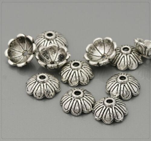 20x perlkappen remates perlas tapas spacer joyas DIY bricolaje 4x11mm pk119