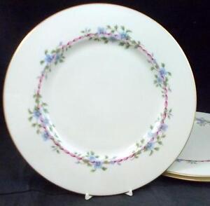Lenox-China-BELVIDERE-3-Dinner-Plates-S314-GREAT-VALUE
