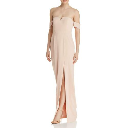 Aidan by Aidan Mattox Womens Off-The-Shoulder A-Line Formal Dress Gown BHFO 6302