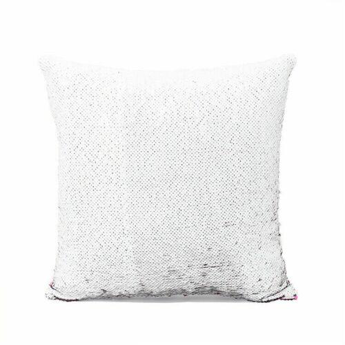 10X Rose Rose 3D Sublimation Blanc Réversible Sirène Taie d/'oreiller sequin paillettes