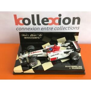 MINICHAMPS-400030016-BAR-HONDA-005-2003-J-Villeneuve-1-43-NB
