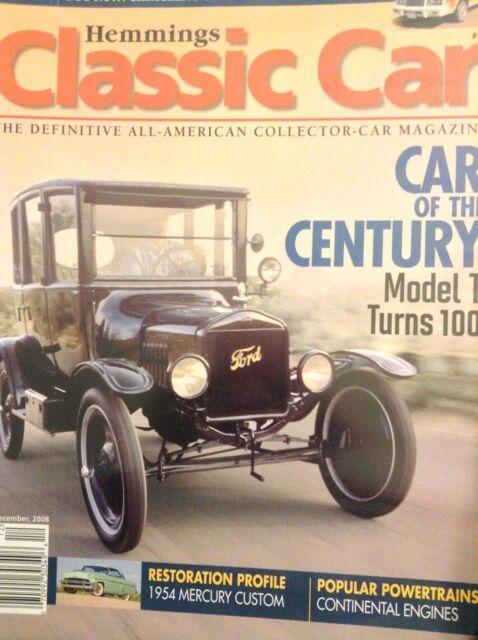Hemmings Classic Car Magazine Model T Turns 100 December