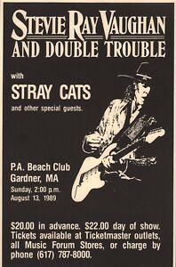STEVIE-RAY-VAUGHAN-1989-IN-STEP-TOUR-ORIGINAL-CONCERT-POSTER-STRAY-CATS