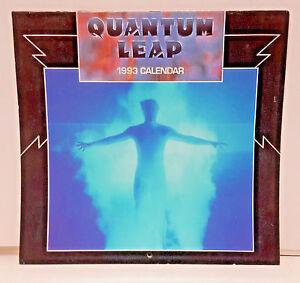 "1993 Quantum Leap Calendar - 11¾"" x 11¼"""