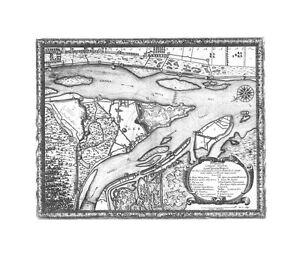 Antique-map-Geometrica-delineatio-minitionis-Dantziger-Hoeft