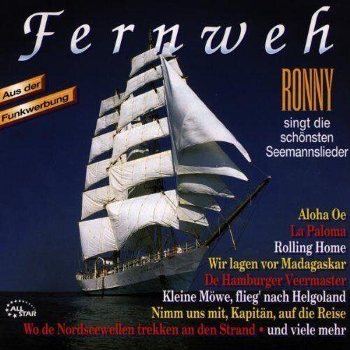 Ronny | CD | Fernweh-Die schönsten Seemannslieder (1995)