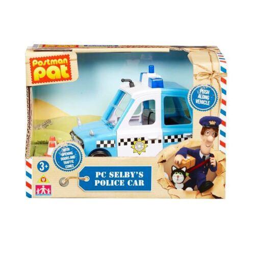 25/% off RRP Caractère-Postman Pat-Véhicule PC Selby la voiture de police-VENTE!!