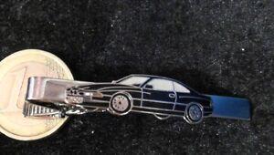 BMW 850i Auto Krawattenklamm<wbr/>er Krawattenhalte<wbr/>r Geldschein Tie Clip schwarz  Krol