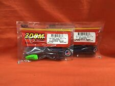 #004-350 Electric Shad 2 PCKS ZOOM Finesse Worm 20cnt