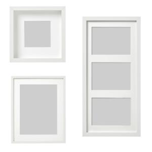 Das Bild Wird Geladen IKEA RIBBA Bilderrahmen Weiss Passepartout Fotorahmen Arten Tiefen