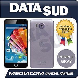 Smartphone-MEDIACOM-PhonePad-Duo-X532L-PURPLE-GRAY-M-PPBX532L-Dual-Sim