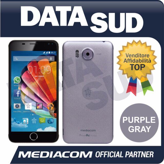Smartphone MEDIACOM PhonePad Duo X532L PURPLE/GRAY M-PPBX532L Dual Sim