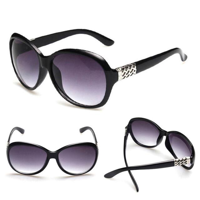 New Women's Retro Vintage Shades Fashion Oversized Classic Designer Sunglasses