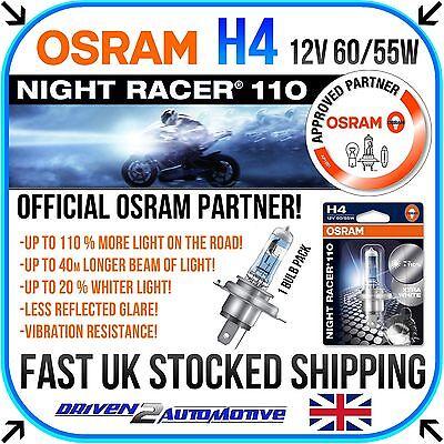 1x OSRAM H4 NIGHT RACER 110 Harley Davidson FXDSE 1600 Dyna Sream. Eagle 2007