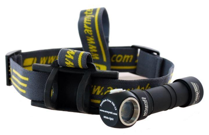 Armytek Wizard Pro v3 XHP50 (Warm) USB Magnet Rechargeable Headlamp w/18650