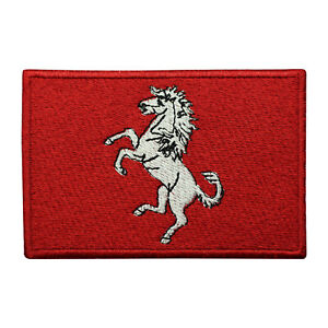 Kent County Flag Patch Iron On Patch Sew On Embroidered Patch